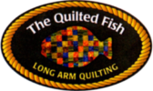 The Quilted Fish Logo