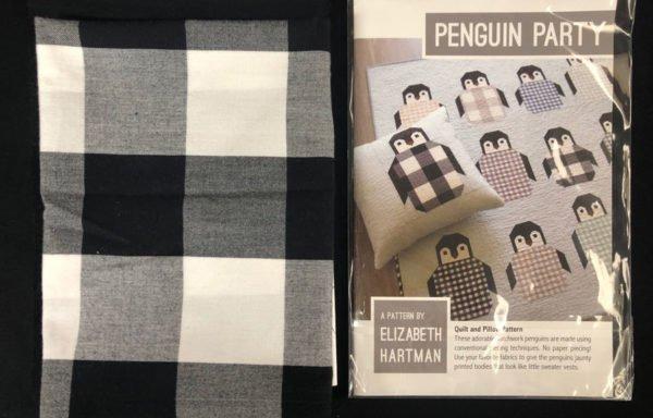 PENGUIN PARTY Kit & Pattern