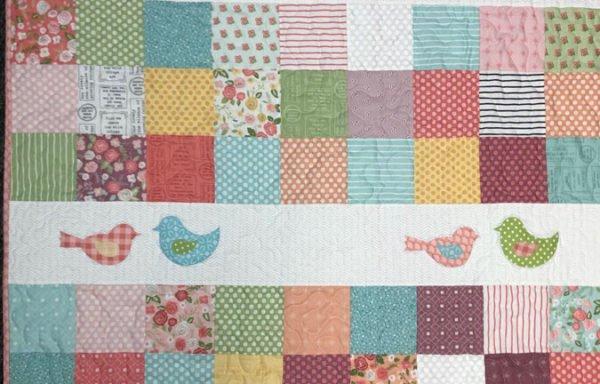 Charm Pack, Appliqués  Makes our Birds Sing!