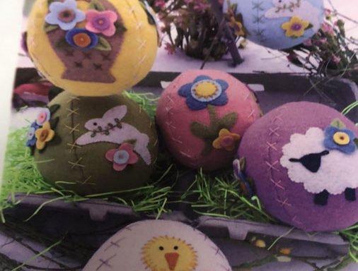 Wool Eggs