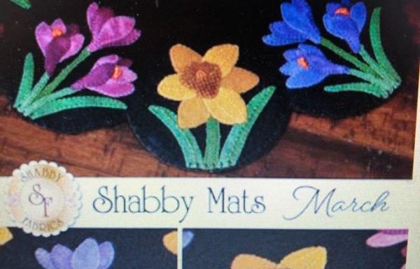 Shabby 4 March Kit