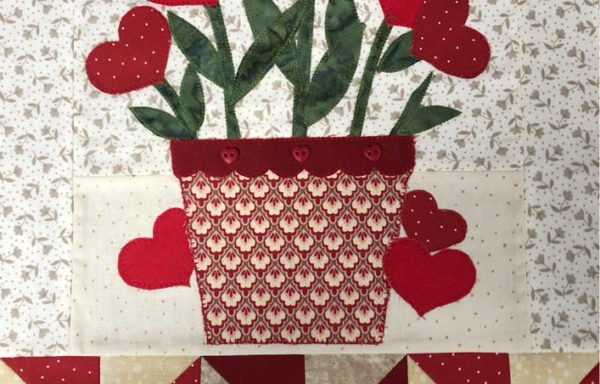 Wall hanging for Red Flowers