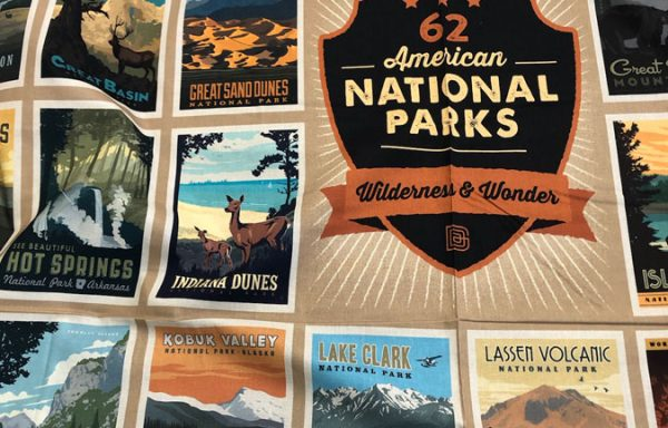 National Parks 52 x 74 Panel