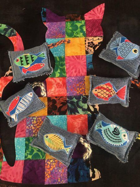 Catnip bags by Meg